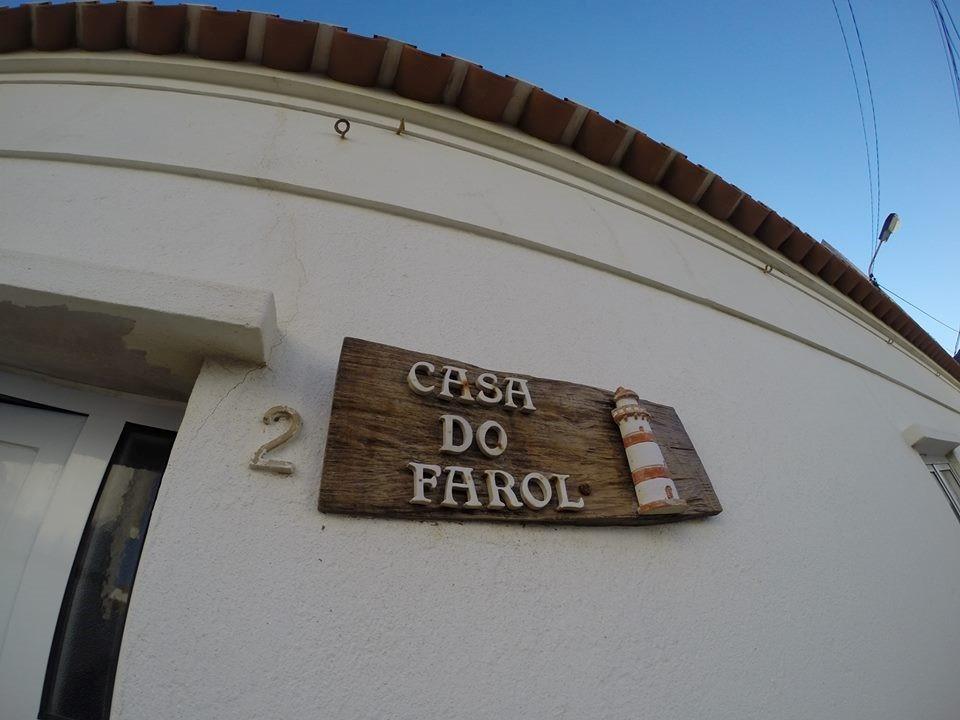 Casa do farol front wall