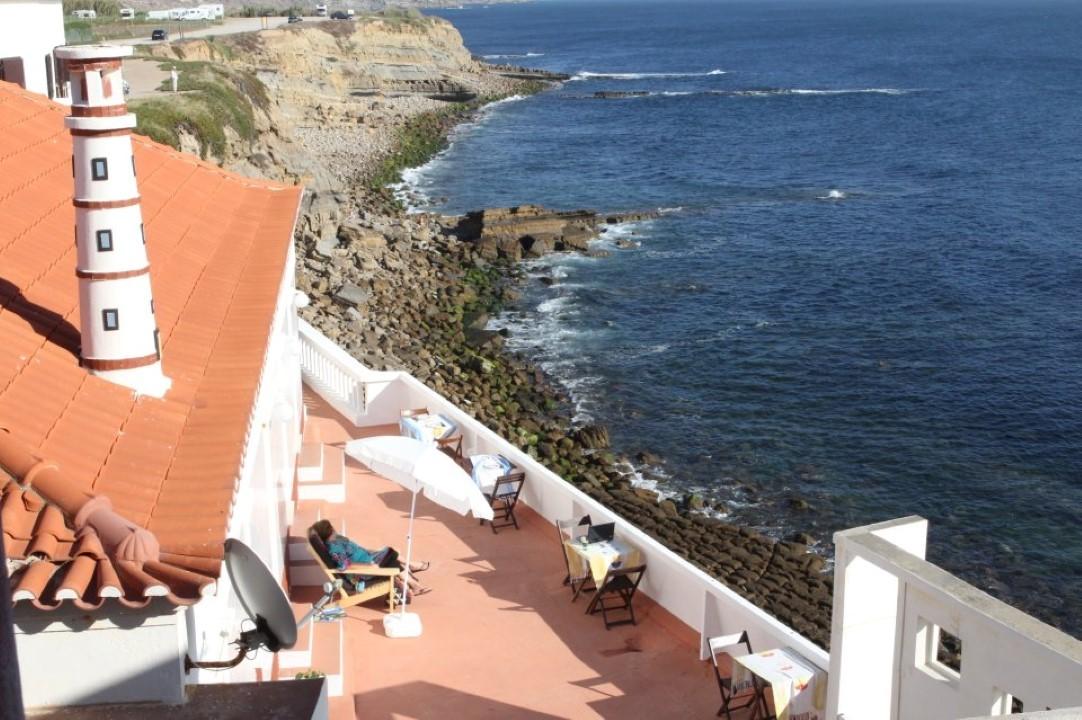 casa do farol view over the terrace